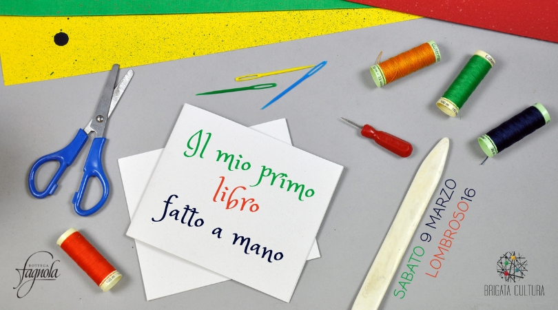 Il mio primo libro fatto a mano - Workshop di legatoria per bambini a Torino