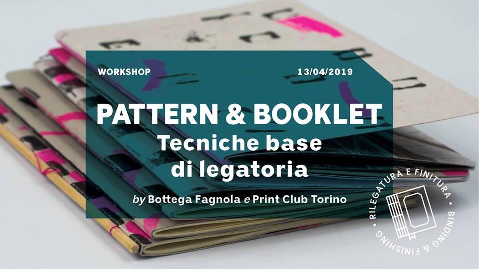 workshop pattern risograph legatoria print club torino bottega fagnola