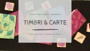 Timbri e carte 2020 - workshop timbri legatoria