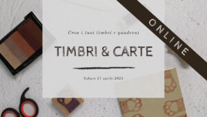 workshop online timbri legatoria 2021