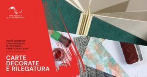 workshop online legatoria carte decorate
